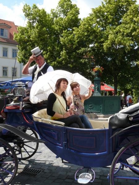 Gutschein Kutschfahrt: Goethe Gartenhaus Tour
