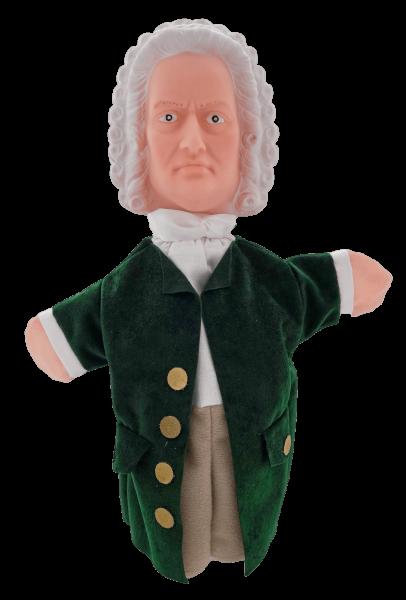 Handpuppe Bach