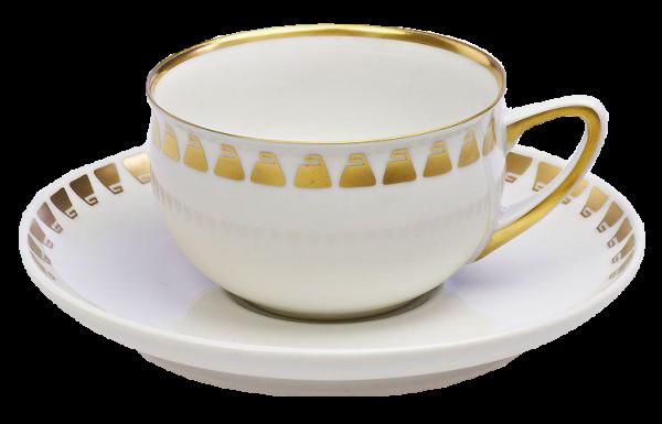 Kaffeegedeck von Henry van de Velde