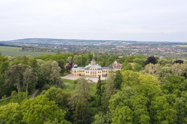 Plakat Schloss und Park Belvedere
