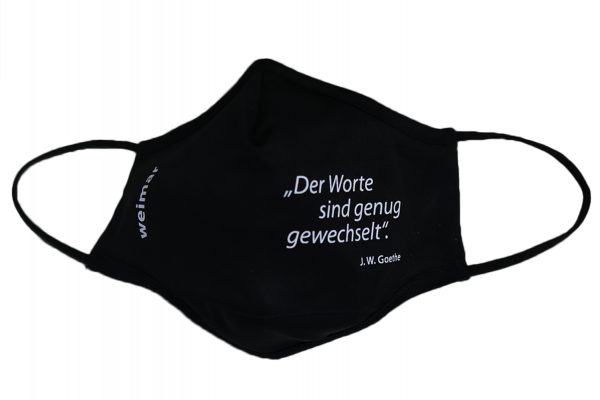 Mund-Nasen-Schutz mit Weimar-Motiv